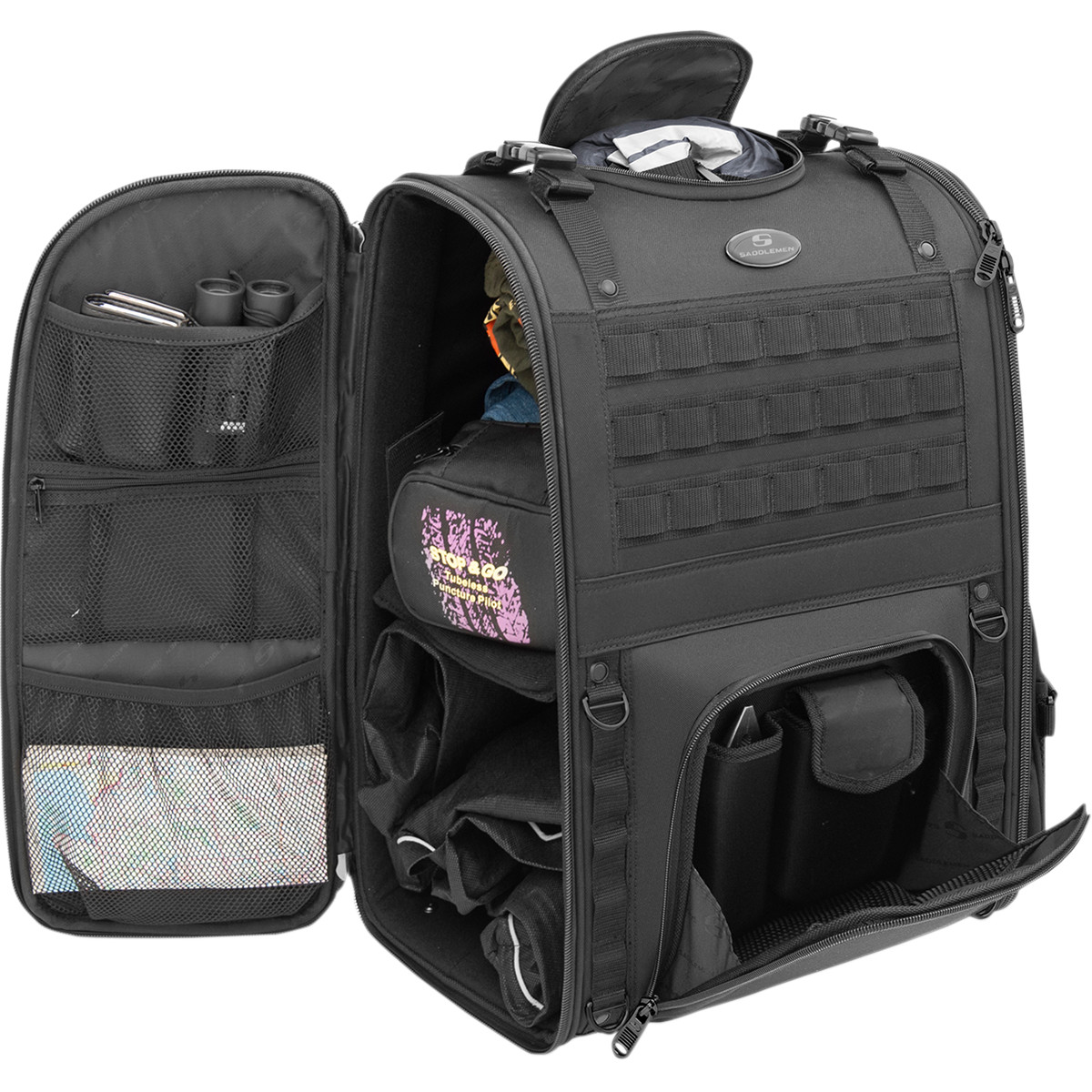 Saddlemen 'Tactical' Sissybar bag – HADELAND MULTISERVICE